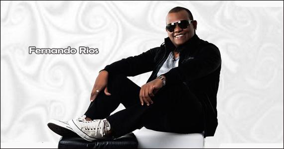 Fernando Rios leva seu show Contagiante ao palco do Piove nesta terça-feira Eventos BaresSP 570x300 imagem