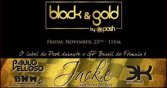 Na sexta-feira acontece a badalada Festa Black & Gold by Posh na Vila Über Eventos BaresSP 570x300 imagem