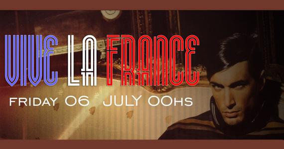 Nesta sexta-feira o Club Royal embala a noite com a Festa Viva La France Eventos BaresSP 570x300 imagem