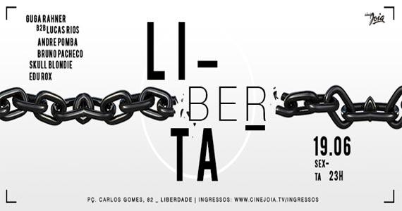 Cine Joia promove a Festa Liberta com muita música ao som da Dj Clara Aguilar e convidados Eventos BaresSP 570x300 imagem