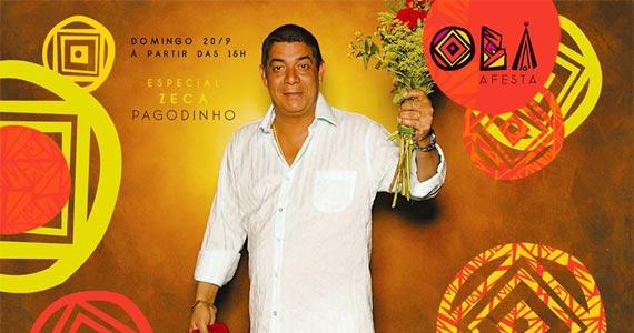 Nossacasa Confraria de Ideias apresenta Festa Obá homenageando Zeca Pagodinho Eventos BaresSP 570x300 imagem