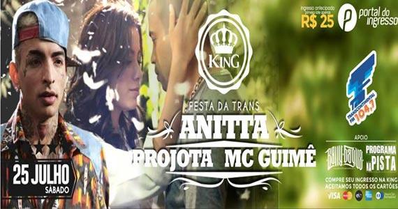 King Hall realiza a Festa da Transcontinental com show de Anitta, Projota e MC Guimê Eventos BaresSP 570x300 imagem