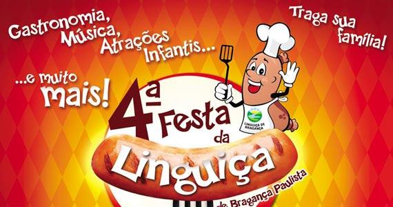 4ª Festa da Linguiça de Bragança Paulista com entrada franca em setembro Eventos BaresSP 570x300 imagem