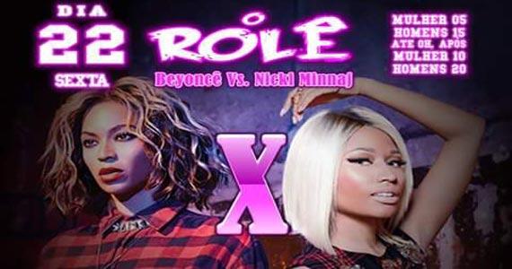 Festa Rolê apresenta músicas de Beyoncé vs Nicki Minaj na Sambarylove Eventos BaresSP 570x300 imagem