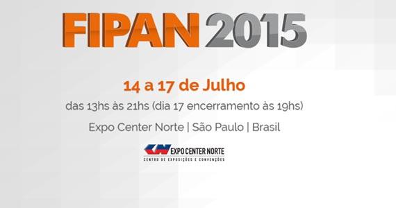 Expo Center Norte promove a FIPAN com novidades e muitas exposições  Eventos BaresSP 570x300 imagem
