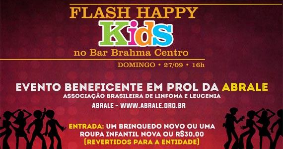 Bar Brahma apresenta a Festa Flash Happy Kids com muitas atrações Eventos BaresSP 570x300 imagem