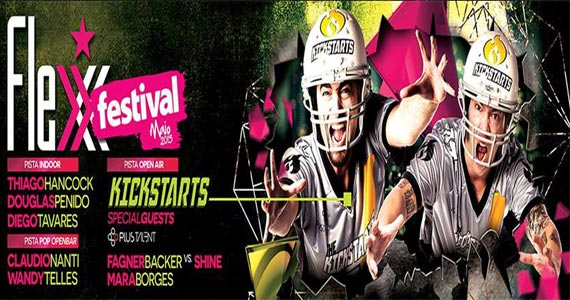 Festa Flexx Festival apresenta The Kickstarts com muita música na Flexx Club Eventos BaresSP 570x300 imagem