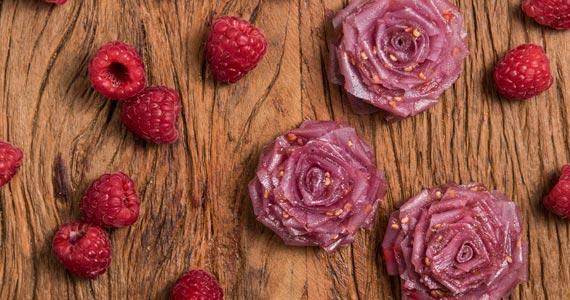 Flores Comestíveis são as apostas da Dona Doceira para o Dia das Mães Eventos BaresSP 570x300 imagem
