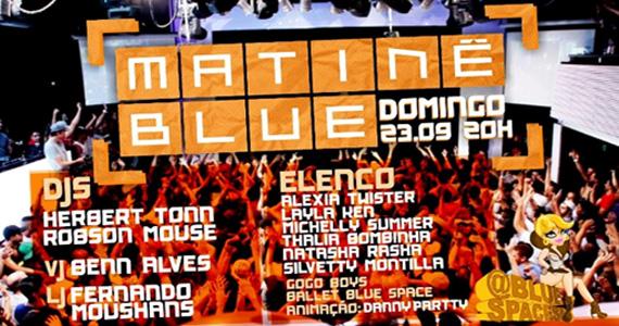 Blue Space apresenta a Matinê Blue com DJs e outras atrações Eventos BaresSP 570x300 imagem
