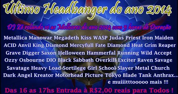 DJ Zé comanda o último domingo do ano com muita música no Fofinho Rock Bar Eventos BaresSP 570x300 imagem