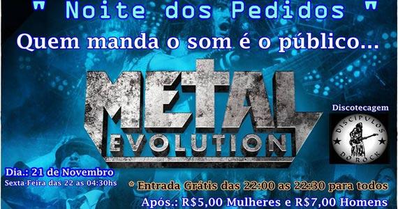 Noite dos Pedidos com o melhor do heavy metal nesta sexta-feira no Fofinho Rock Bar Eventos BaresSP 570x300 imagem