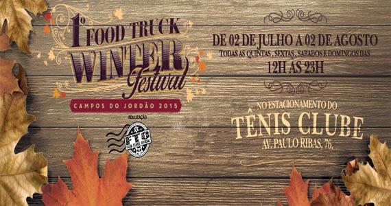 Tênis Club- Campos do Jordão realiza a 1ª Edição do Food Truck Winter Festival Eventos BaresSP 570x300 imagem