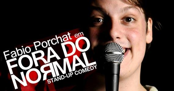 Teatro Frei Caneca apresenta a peça Fora do Normal estrelado por Fábio Porchat Eventos BaresSP 570x300 imagem