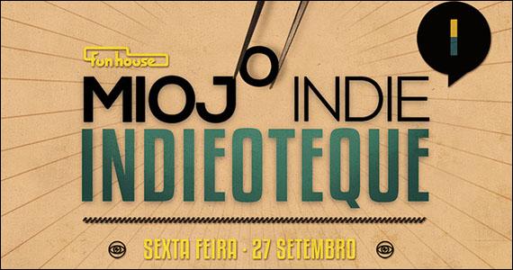 Indie rock em mais uma edição da Festa Indieoteque na Funhouse - Rota do Rock Eventos BaresSP 570x300 imagem