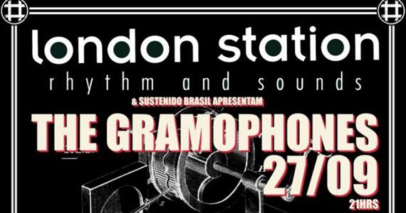 Banda The Gramophones se apresenta na quinta-feira do London Station Eventos BaresSP 570x300 imagem