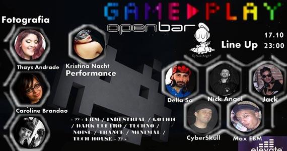 Festa Game Play com DJs convidados e Open Bar no Espaço Elevate nesta sexta-feira Eventos BaresSP 570x300 imagem