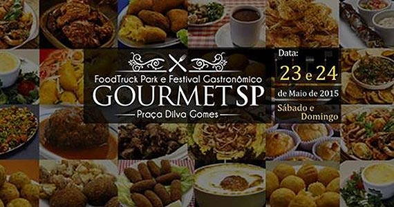 Festival Gastronômico Gourmet SP - Edição Praça Dilva Gomes Eventos BaresSP 570x300 imagem