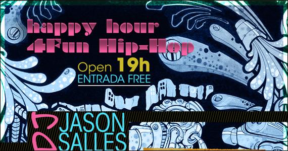 Happy hour com hip-hop no comando do DJ Jason Salles no D4 Boteco Galeria Eventos BaresSP 570x300 imagem