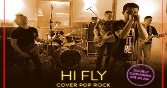 Banda Hi Fly embala a noite do B Music Bar tocando muito Rock na sexta Eventos BaresSP 570x300 imagem