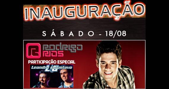 Inauguração do Hits Café no sábado com Rodrigo Rios e Leandro & Gustavo Eventos BaresSP 570x300 imagem