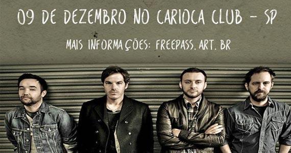Banda Hoobastank canta sucessos da carreira no palco do Carioca Club Eventos BaresSP 570x300 imagem