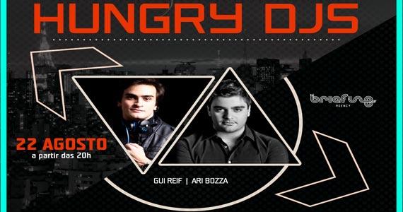 Blá Bar recebe o Projeto Hungy Djs com Gui Reif e Ari Bozza agitando o sábado Eventos BaresSP 570x300 imagem