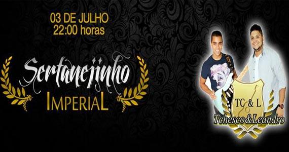 Dupla Thesco & Leandro anima a noite da Imperial Club com sertanejo Eventos BaresSP 570x300 imagem