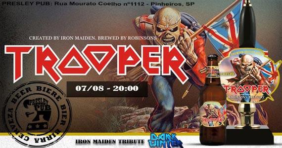 Presley Pub comemora o Dia da Cerveja com lançamento de cerveja e show de Banda cover do Iron Maiden Eventos BaresSP 570x300 imagem