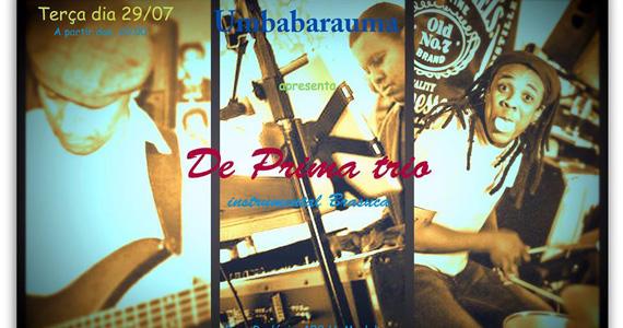 De Prima Trio se apresenta nesta terça-feira no Umbabarauma Bar Eventos BaresSP 570x300 imagem