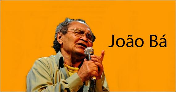 Na quinta-feira o Sesc Santana apresenta o show do cantor João Bá Eventos BaresSP 570x300 imagem