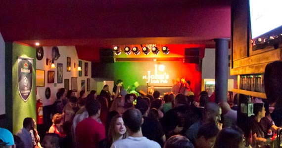 St. John Irish Pub oferece Double Jagger e St. Johns beer ao som do Kings of Leon Cover - Rota do Rock Eventos BaresSP 570x300 imagem