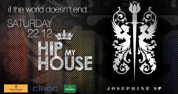 Projeto Hip My House agita Josephine SP com Djs especiais no sábado Eventos BaresSP 570x300 imagem