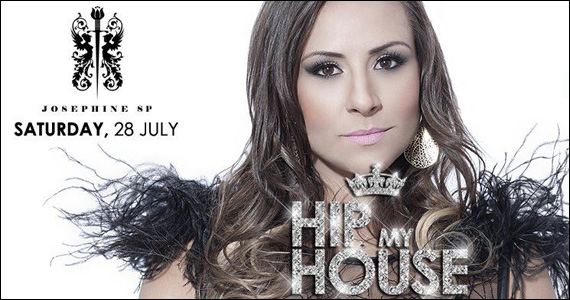 Josephine apresenta no sábado a Festa Hip My House  Eventos BaresSP 570x300 imagem