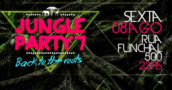 7 Edição da Jungle Party com atração internacional no Santa Aldeia Eventos BaresSP 570x300 imagem