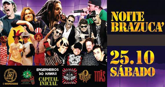 Noite Brazuca com o melhor do rock nacional neste sábado no O Kazebre Eventos BaresSP 570x300 imagem