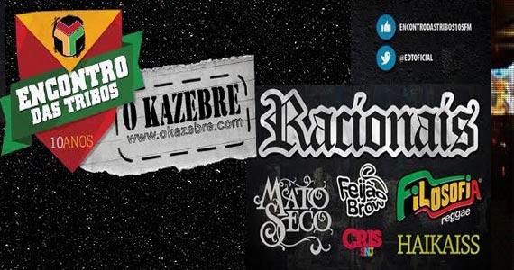 Kazebre realiza o Encontro das Tribos com show de Racionais, Mato Seco e convidados Eventos BaresSP 570x300 imagem