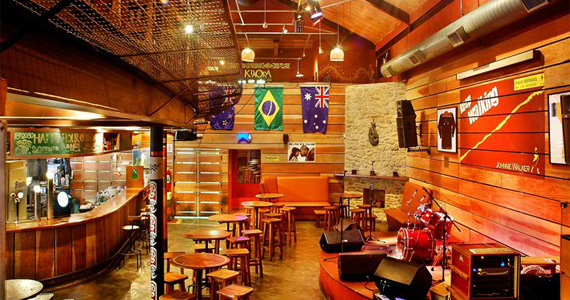 Sexta-feira de feriado agitada no pub Kia Ora do Itaim Bibi Eventos BaresSP 570x300 imagem