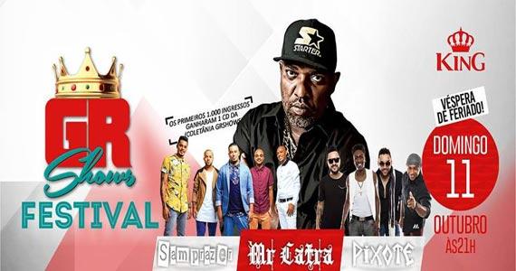 King Hall apresenta show de Mr Catra, Pixote e Samprazer no domingo Eventos BaresSP 570x300 imagem