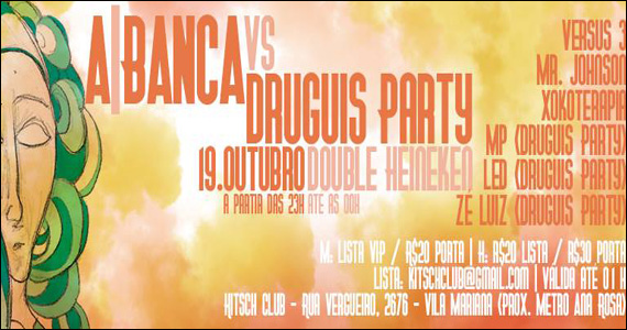 Programção com DJs convidados e Double Heineken no sábado da Kitsch Club Eventos BaresSP 570x300 imagem