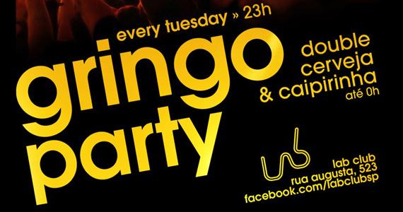 Nesta terça-feira acontece a Festa Gringo Party no Lab Club Eventos BaresSP 570x300 imagem