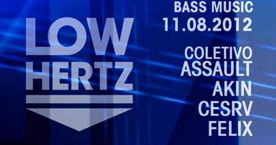Festa Low Hertz faz sua 6ª edição neste sábado com muito Bass Music Eventos BaresSP 570x300 imagem