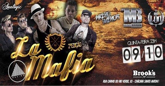 2ª Edição da festa La Mafia com Mano Brown e outras atrações na Brook's Eventos BaresSP 570x300 imagem