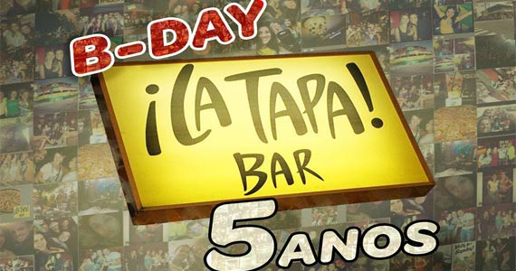 Aniversário de 5 anos do restaurante La Tapa nesta quinta-feira Eventos BaresSP 570x300 imagem