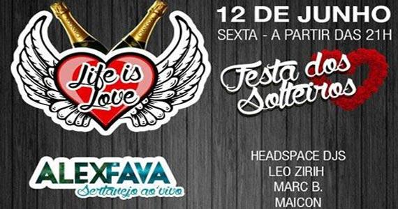 La Fiesta promove noite a Festa dos Solteiros com o show de Alex Fava e atrações Eventos BaresSP 570x300 imagem