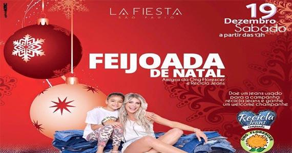 La Fiesta realiza Feijoada de Natal com muitas atrações no sábado Eventos BaresSP 570x300 imagem