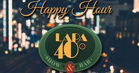Lapa 40 Graus oferece happy hour com cardápio variado e ambiente descontraído Eventos BaresSP 570x300 imagem