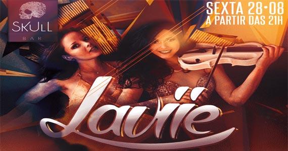 Skull Bar apresenta duo Laviie e Banda Mama Jam agitando a sexta Eventos BaresSP 570x300 imagem