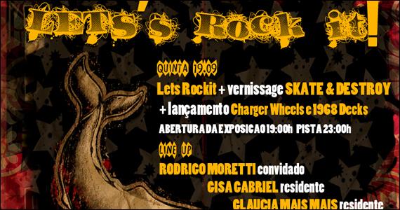Acontece na quinta-feira a Festa Let's Rock It na D4 Boteco Galeria Eventos BaresSP 570x300 imagem