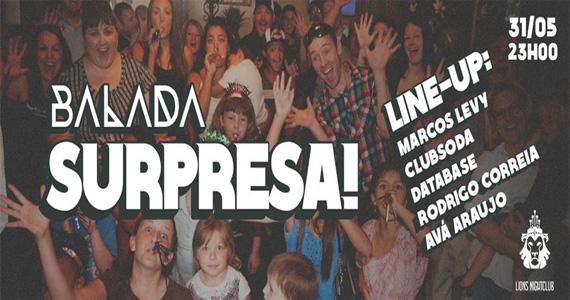 Balada Surpresa com DJs convidados agitam a noite de sábado da Lions Nightclub Eventos BaresSP 570x300 imagem