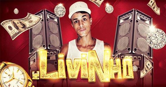 MC Livinho toca sucessos do funk no palco da Royal Club nesta terça Eventos BaresSP 570x300 imagem